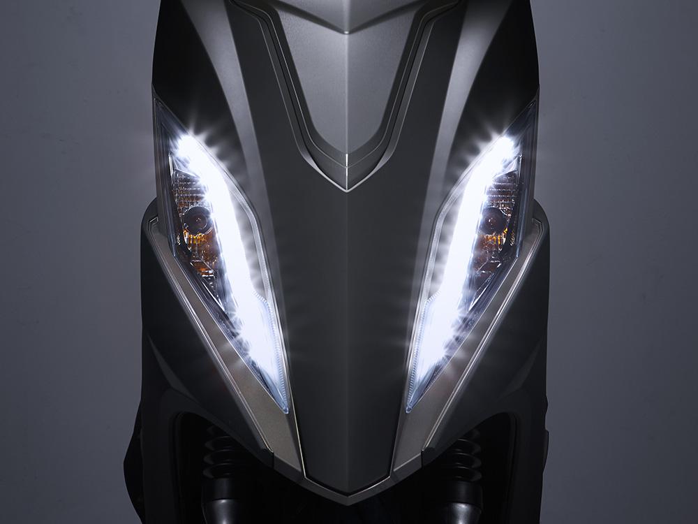 LED位置燈-運通租機車-台中火車站租機車